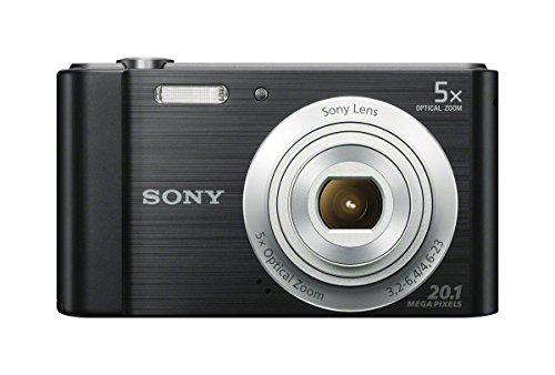 Sony DSCW800 Digital Camera Black