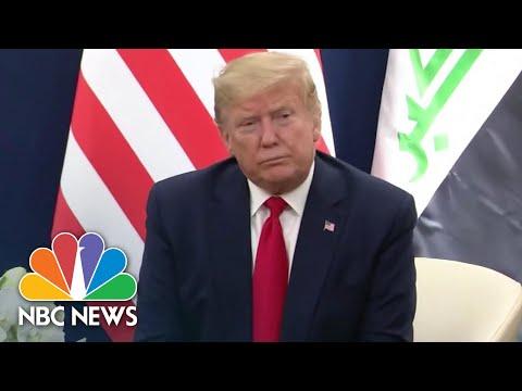 Timeline: Trump's Response To The Coronavirus Outbreak   NBC News NOW