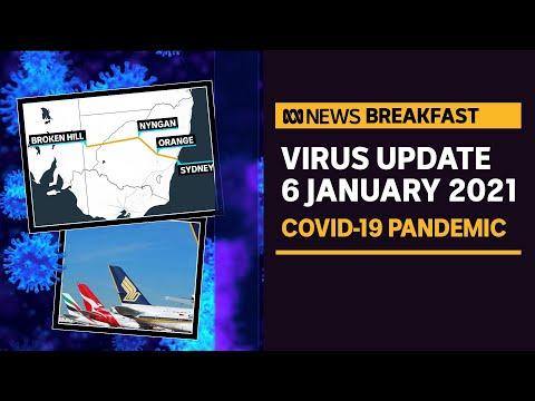 Coronavirus update 6 Jan – Regional NSW on high alert, push for international travel | ABC News