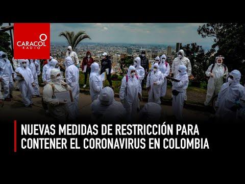 Nuevas medidas de restricción para contener el coronavirus en Colombia   Caracol Radio