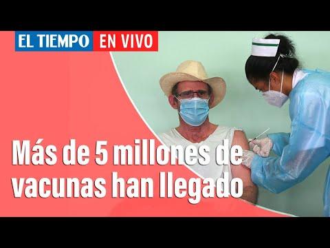 Coronavirus en Colombia: Las cuentas de la llegada de vacunas contra el covid-19 a Colombia