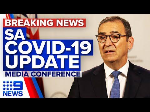 SA 'on track' to lift lockdown after three new local cases   Coronavirus   9 News Australia