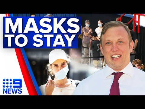 Queensland mask rules stay ahead of weekend vaccine blitz | Coronavirus | 9 News Australia