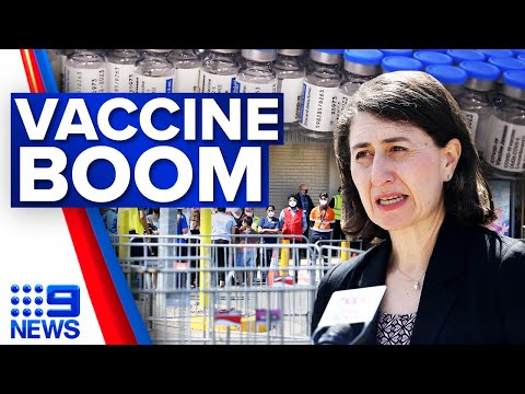 COVID-19 vaccination rates surge in Sydney suburbs | Coronavirus | 9 News Australia