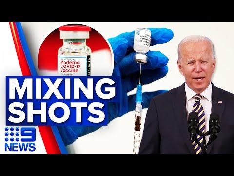 Mixing COVID-19 vaccines deemed effective | Coronavirus | 9 News Australia